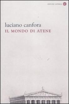 Il mondo di Atene - Luciano Canfora - copertina