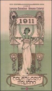 Libro 1911. Calendario italiano