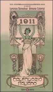 1911. Calendario italiano