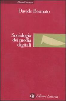 Camfeed.it Sociologia dei media digitali. Relazioni sociali e processi comunicativi del web partecipativo Image