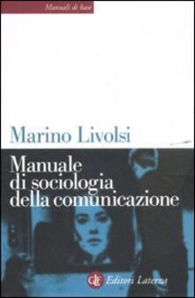 Osteriacasadimare.it Manuale di sociologia della comunicazione Image