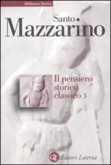 Camfeed.it Il pensiero storico classico. Vol. 3 Image