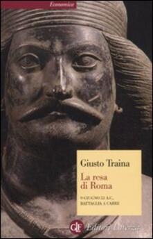 Equilibrifestival.it La resa di Roma. 9 giugno 53 a. C., battaglia a Carre Image