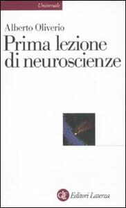 Prima lezione di neuroscienze