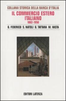 Antondemarirreguera.es Il commercio estero italiano 1862-1950 Image