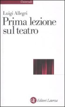 Camfeed.it Prima lezione sul teatro Image