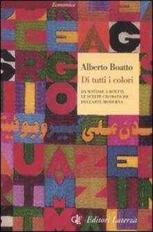 Radiosenisenews.it Di tutti i colori. Da Matisse a Boetti, le scelte cromatiche dell'arte moderna Image