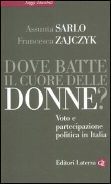 Collegiomercanzia.it Dove batte il cuore delle donne? Voto e partecipazione politica in Italia Image