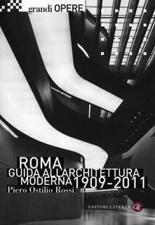Daddyswing.es Roma. Guida all'architettura moderna 1909-2011. Ediz. illustrata Image