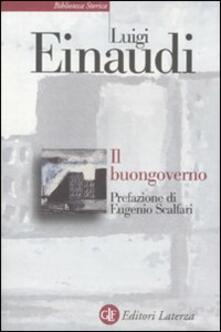 Osteriacasadimare.it Il buongoverno. Saggi di economia e politica (1897-1954) Image