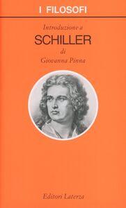 Foto Cover di Introduzione a Schiller, Libro di Giovanna Pinna, edito da Laterza
