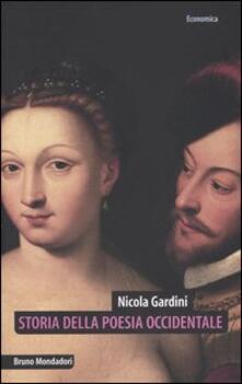 Listadelpopolo.it Storia della poesia occidentale. Lirica e lirismo dai provenzali ai postmoderni Image