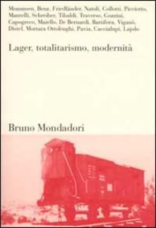 Lager, totalitarismo, modernità - copertina