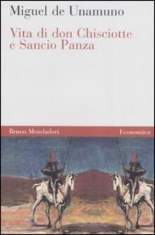 Vita di Don Chisciotte e Sancho Panza - Miguel de Unamuno - copertina