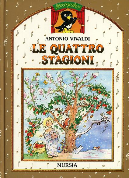 Le quattro stagioni. Con MP3 scaricabile online - Antonio Vivaldi - copertina