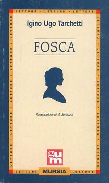 Fosca - Igino Ugo Tarchetti - copertina