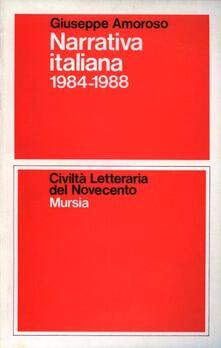 Narrativa italiana 1984-1988