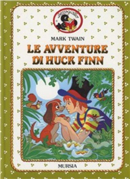 Le avventure di Huck Finn - Mark Twain - copertina