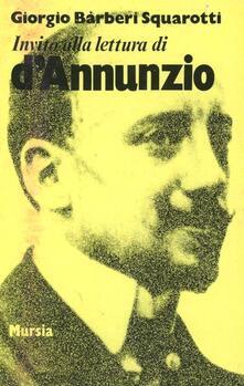 Fondazionesergioperlamusica.it Invito alla lettura di Gabriele D'Annunzio Image