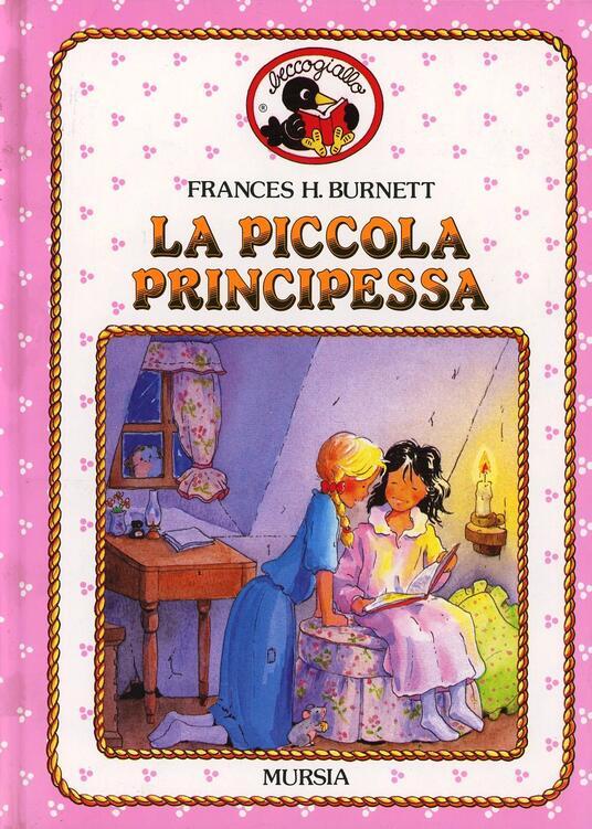 La piccola principessa - Frances H. Burnett - copertina