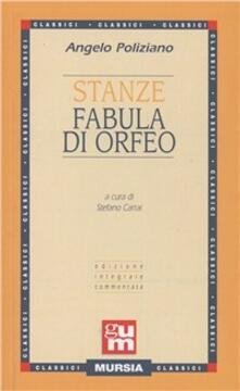 Listadelpopolo.it Stanze-Fabula di Orfeo Image