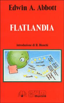 Flatlandia - Edwin A. Abbott - copertina