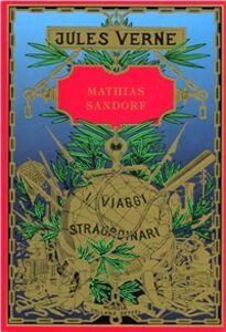 Libro Mathias Sandorf Jules Verne