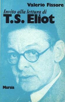 Camfeed.it Invito alla lettura di Thomas S. Eliot Image