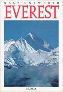 Everest - Walt Unsworth - copertina
