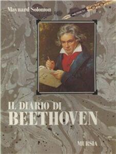 Libro Diario Ludwig van Beethoven