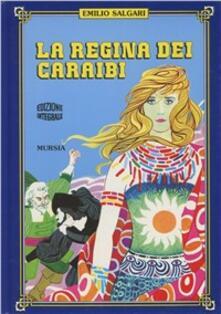 La regina dei Caraibi - Emilio Salgari - copertina