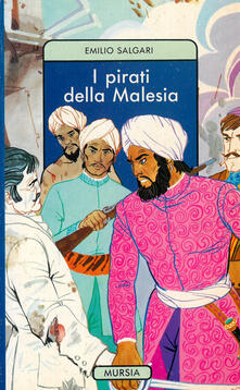 I pirati della Malesia - Emilio Salgari - copertina