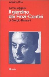 Come leggere il giardino dei finzi contini di giorgio - Il giardino dei finzi contini libro ...
