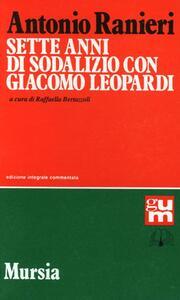 Sette anni di sodalizio con Giacomo Leopardi