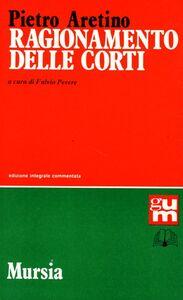 Libro Ragionamento delle corti Pietro Aretino