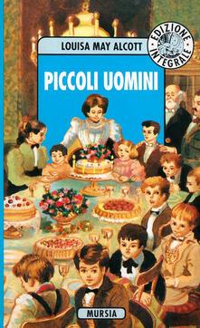 Piccoli uomini - Louisa May Alcott - copertina