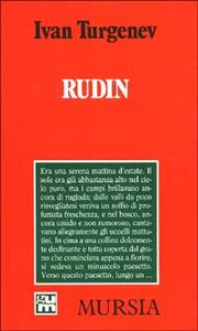 Libro Rudin Ivan Turgenev
