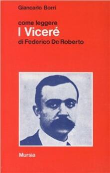 Come leggere «I viceré» di Federico De Roberto.pdf
