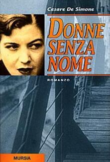 Donne senza nome - Cesare De Simone - copertina
