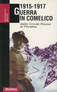 Libro 1915-1917. Guerra in Comelico Antonio Berti