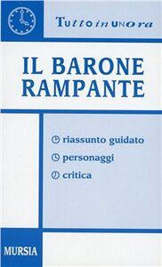 Libro Il barone rampante. Riassunto guidato, personaggi, critica Stefano Anselmi