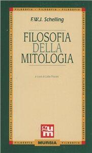 Libro Filosofia della mitologia Friedrich W. Schelling