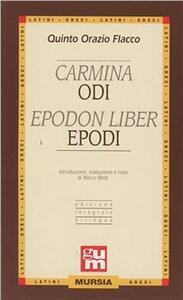 Carmina-Epodon liber-Odi-Epodi