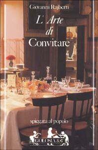 Libro L' arte di convitare Giovanni Rajberti