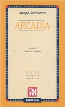 Arcadia - Jacopo Sannazzaro - copertina
