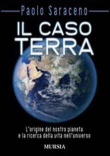 Il caso Terra - Paolo Saraceno - copertina