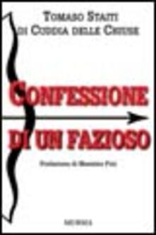 Confessione di un fazioso - Tomaso Staiti di Cuddia - copertina