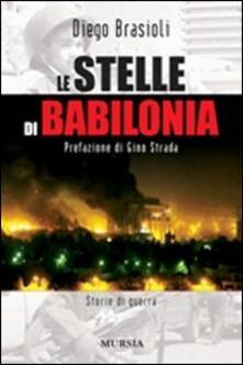 Le stelle di Babilonia - Diego Brasioli - copertina