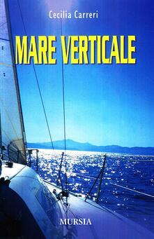 Mare verticale - Cecilia Carreri - copertina