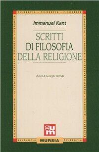 Scritti di filosofia della religione